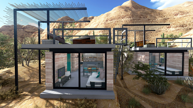 News general a new off the grid community in la for Build your own home website