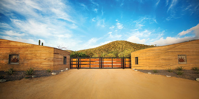 rammed earth baja sur architecture